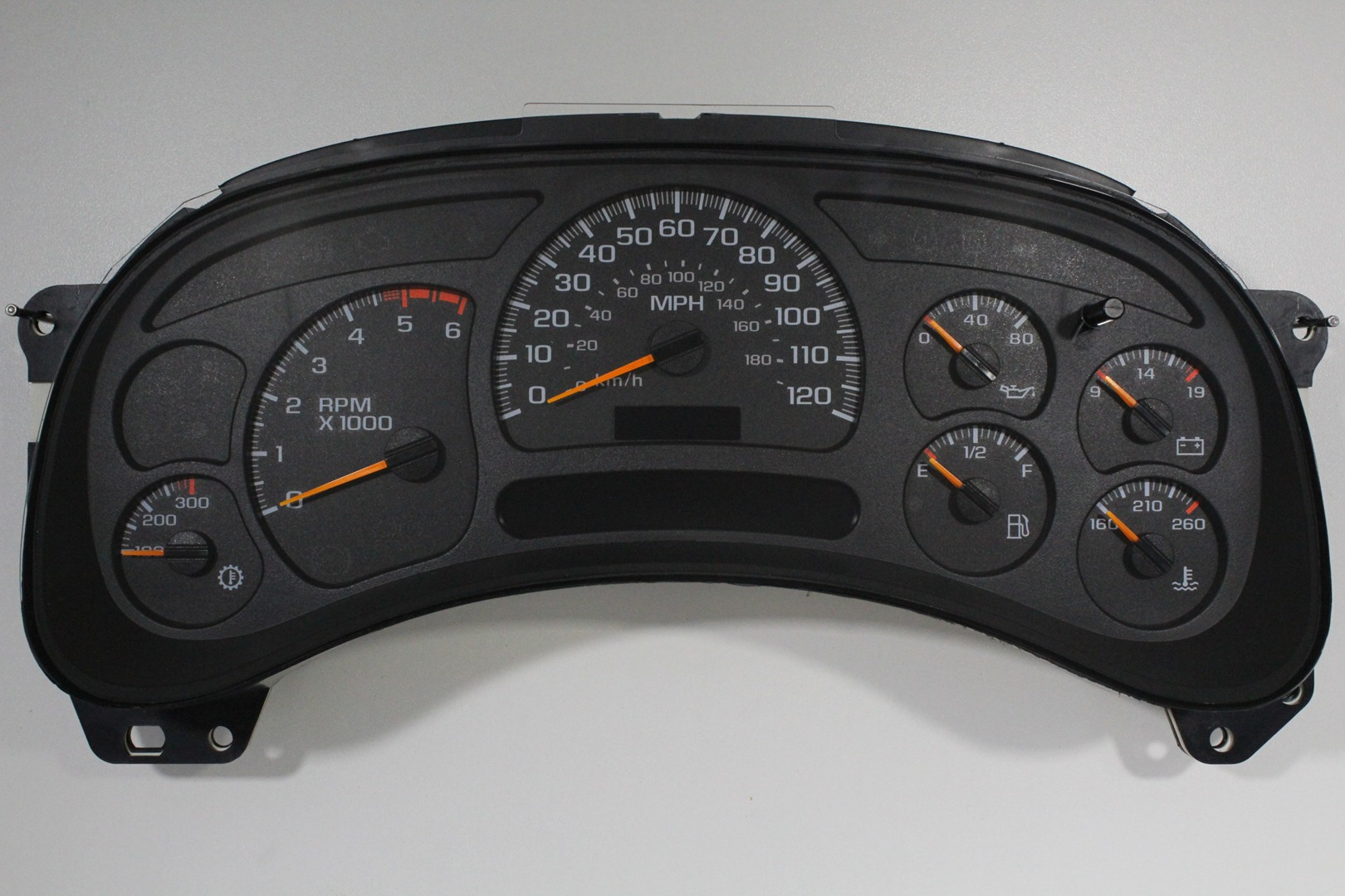 2007 chevy tahoe instrument cluster problems