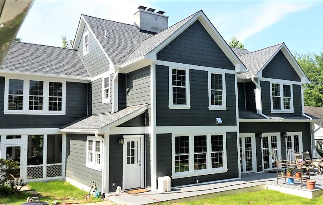 Hardie Siding Iron Gray | Siding Contractor Bethesda, MD