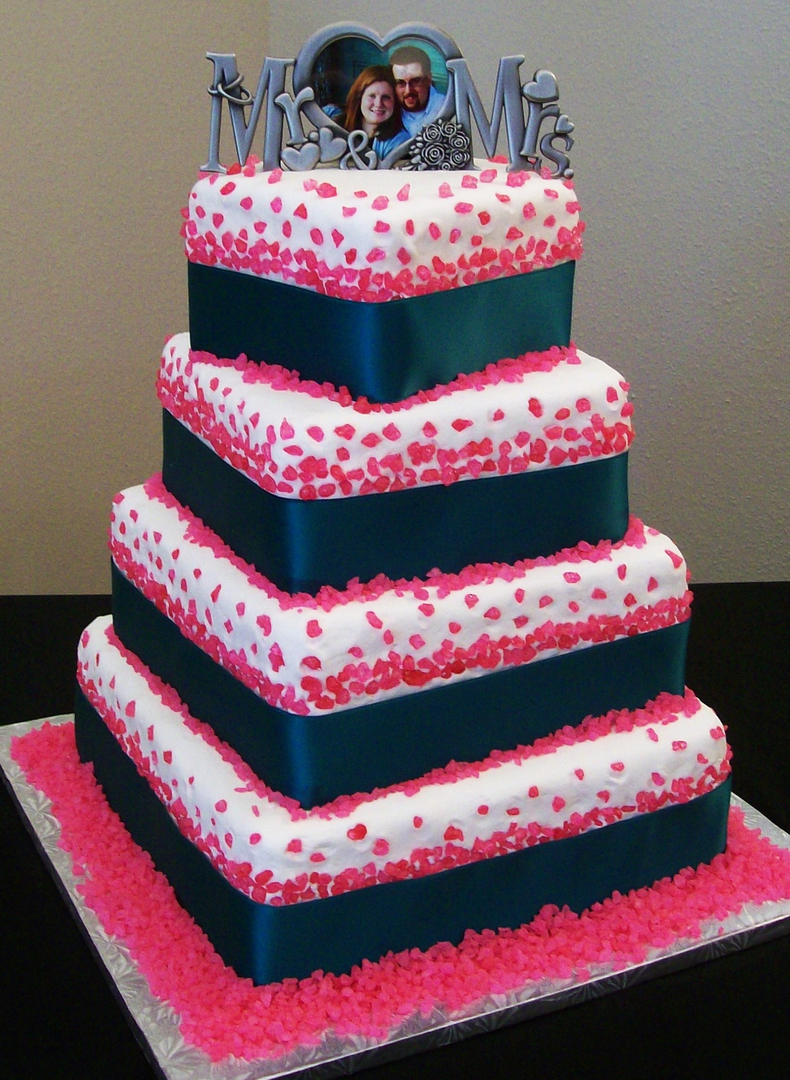 Custom made cakes and cookies in West - Wedding Cakes 6 Small cakes ...