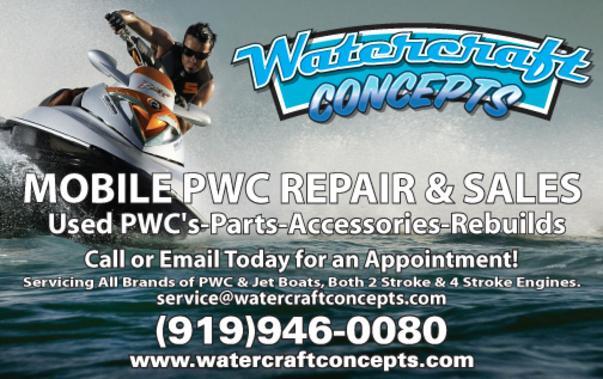 Watercraft Concepts - Personal Watercraft Repair, Jet Ski Repair