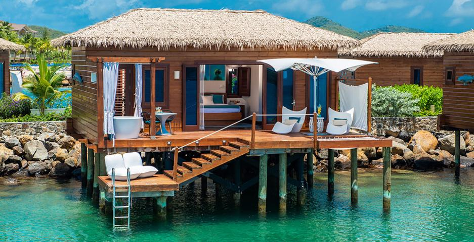 Sandals Grand St Lucian Over Water Bungalow