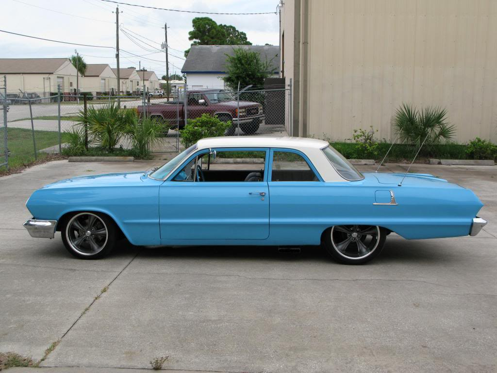 1963 Bel Air Blue 1966 Chevy For Sale