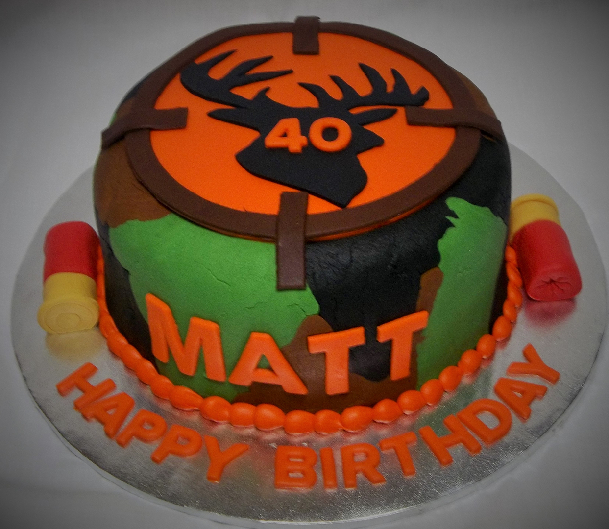 Custom Made Cakes And Cookies In West Mens Cakes 3 Hunting