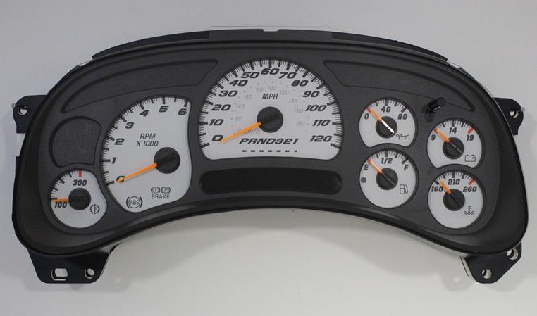 New oem gm 2006 stock super sport ss speedometer cluster for 2004 silverado stepper motor