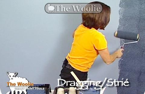Dragging Strie Paint Technique- How To Steps For Faux Painting by ...