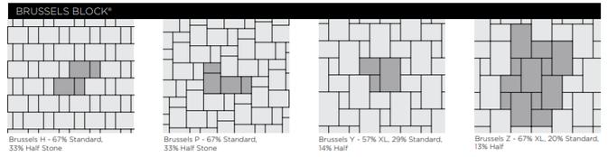 Brussles Block Paver Patterns