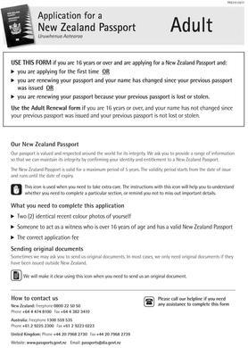 New Zealand Passport and Visa Photos Printed and Guaranteed