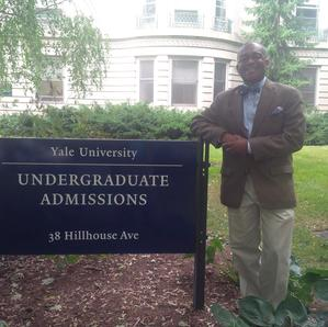 Dr Paul Lowe Ivy league Admissions at Yale University