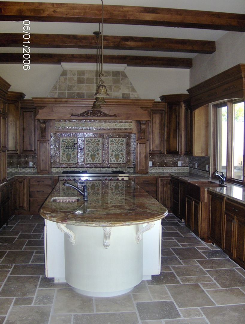 willbanks kitchen design kitchen remodel las vegas Rustic Custom KItchen Cabinets
