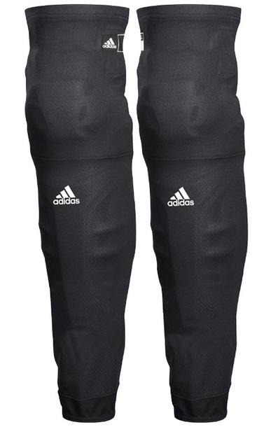 Adidas hockey custom practice black socks for youth and adult.,
