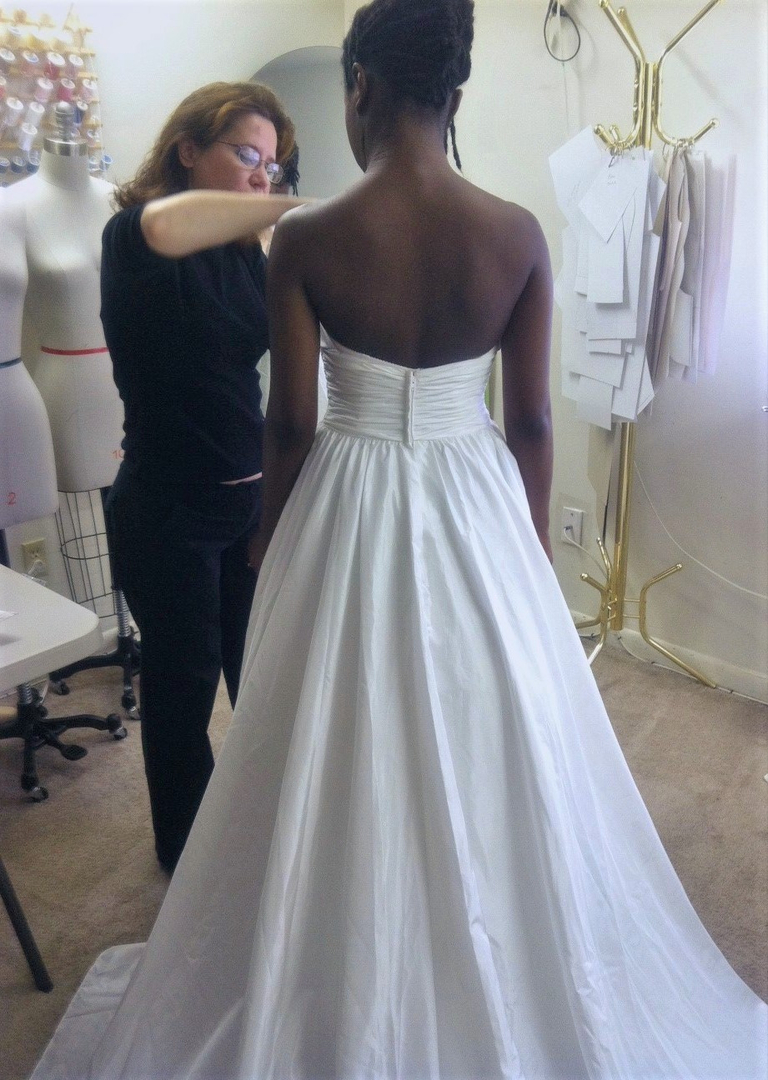 Wedding Dress Alterations in Maryland