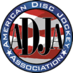 american disc jockey association member badge