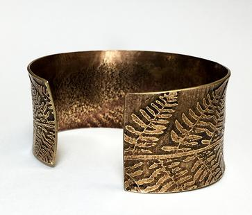 Carol Holaday - Fern Cuff view of back