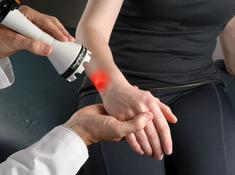 LightForce laser Therapy for the Hand Wrist Class IV