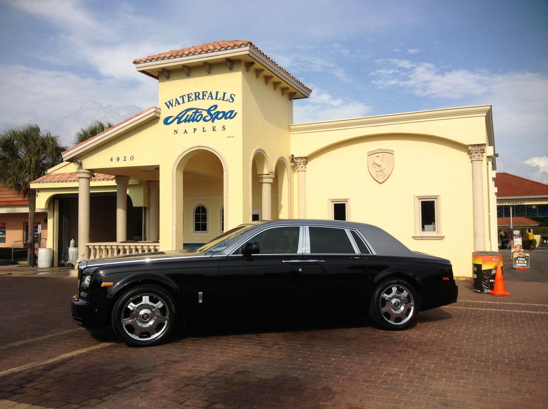 Car washes auto detailing waterfallsautospa naples fl naples best full service exterior car wash solutioingenieria Gallery