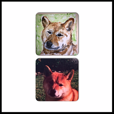 f627ee5c9504 Hand painted with devotion and attention to detail, custom pet portraits  from photos are a wonderful way to cherish our beloved pets and are a true  memorial ...