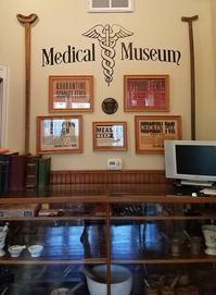 The museum prominently displays an ever-growing collection of vintage medical, pharmaceutical, nursing, and dental artifacts dating from the mid-19th century to the mid-20th century