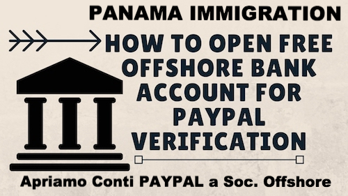 paypal and offshore account