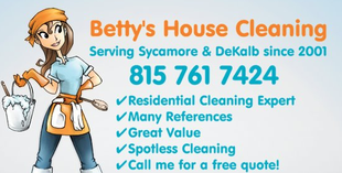 Bettys House Cleaning Facebook Page