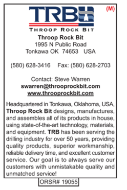 Throop Rock Bit, Rotary Drill Bits