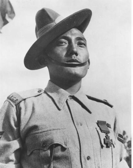 Gurkha Victoria Cross holder Naik Agansing Rai 2/5th Gurkhas