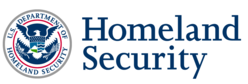Logo for the department of homeland security