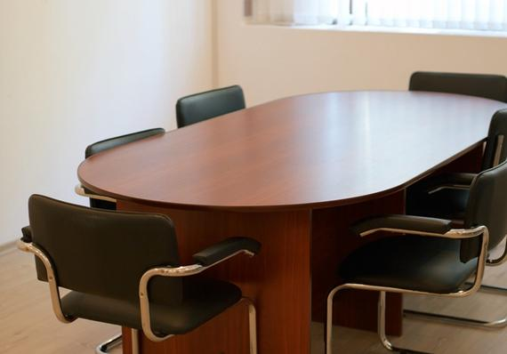 photo of conference table and chairs