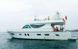 yacht for 35 people in Dubai