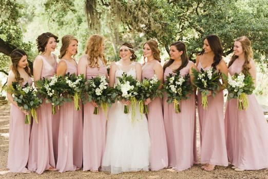 Bloom and Leaf Events Bridesmaid Flowers