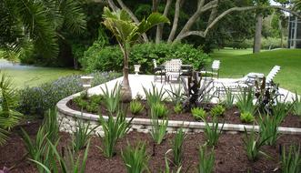 Example of our landscape design services offered in Bradenton, FL