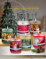 Heritage Candles Holiday Art Collection Candles