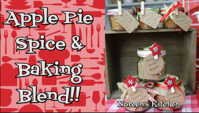 Apple pie spice and baking blend, Noreen's Kitchen
