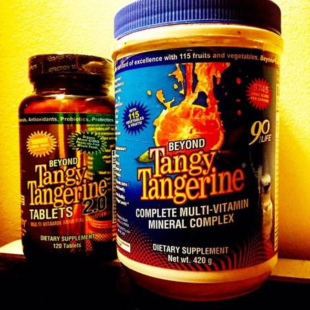 Beyond Tangy Tangerine Powder and Tablets