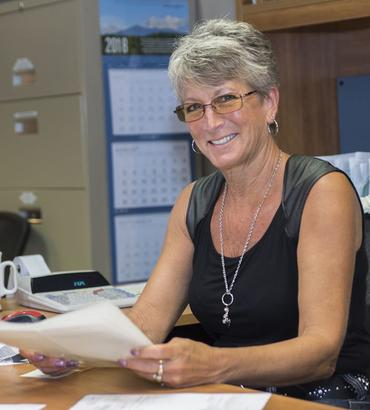 Pam Miller, 26 years at Covington Box