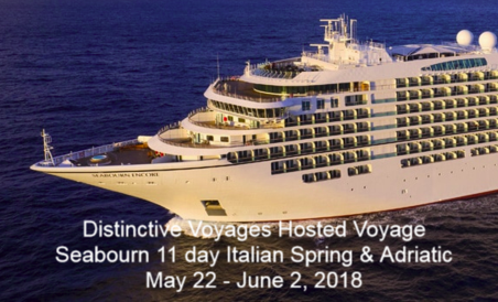 Seabourn Barcelona to Venice May 2018