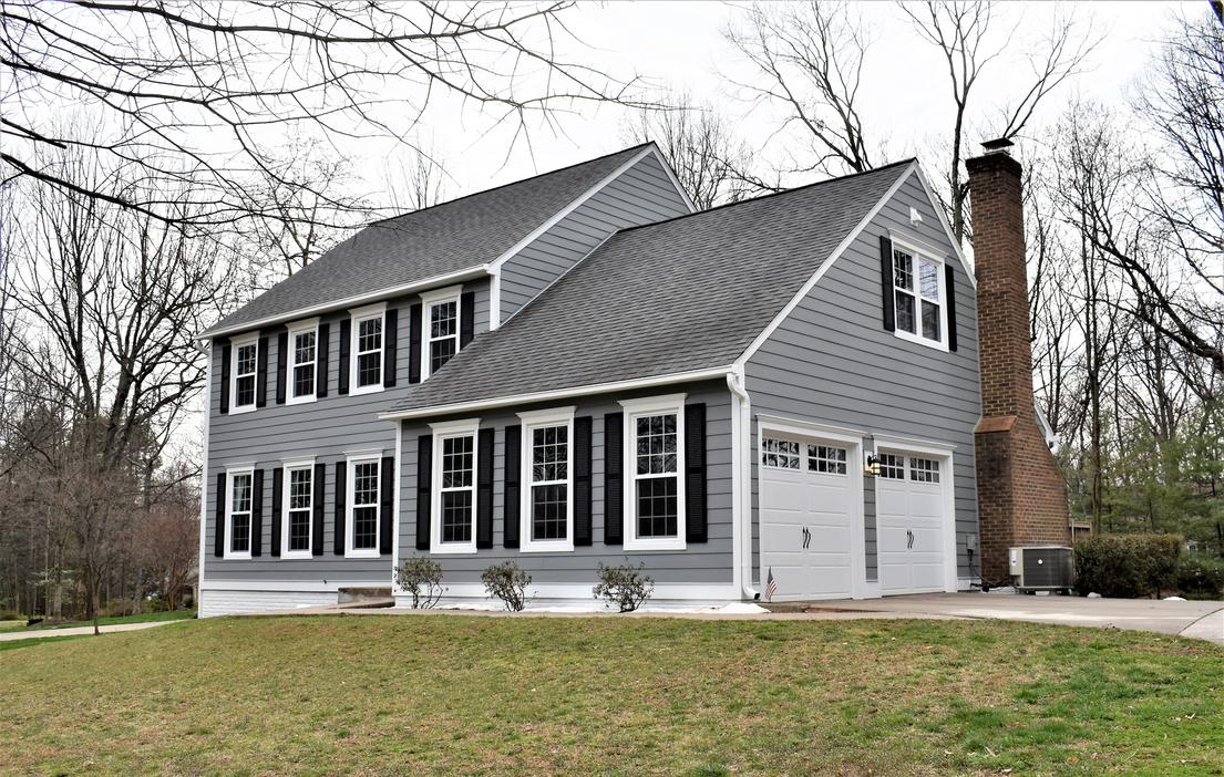 Hardie Siding Gray Slate | Siding Contractor Reston, VA