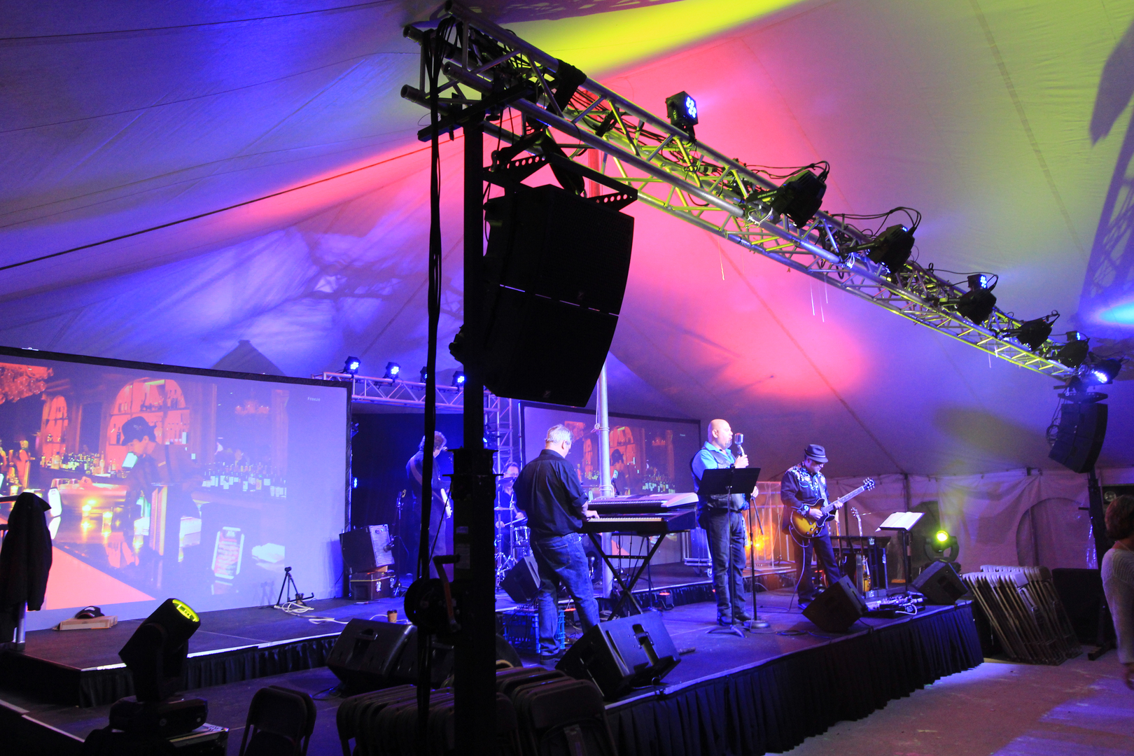 audio visual production and rentals sound events london on
