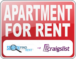 Search Craigslist for rentals - Only Northshore results, southshore excluded with advanced search