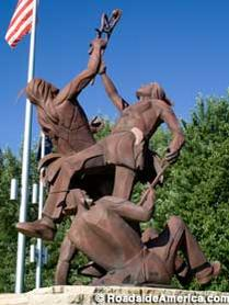 Sculpture in la crosse