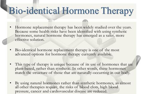 What is Bio-Identical Hormone Therapy