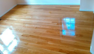 Solid White Oak Hardwood Flooring Finished Natural