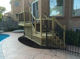 Deck and Fence in GTA and surrounding cities, Aurora, Newmarket, Richmond Hill, Bradford, Stouffville, Vaughan, Markham, King City ...