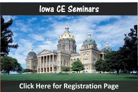 Iowa Chiropractic Seminars Des Moines CE Chiropractic Seminar in Continuing Education Hours Near Davenport
