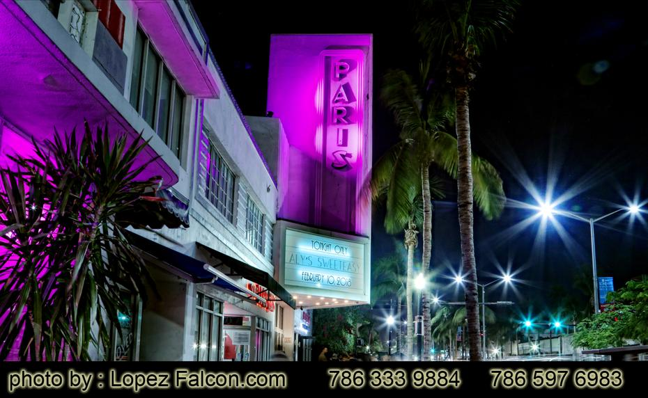 Paris Theatre South Beach Miami