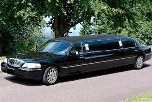 Black Lincoln Limousine, Prom Limousine, Wedding Limo