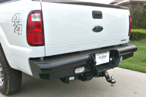 F250 Towing Capacity >> 1992-2018 Ford Super Duty Rear Replacement Bumpers