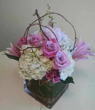 NB-MD16-4 Hydrangea, Lilies, and Roses