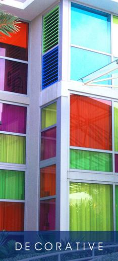 Solar Graphics Decorative Window Films