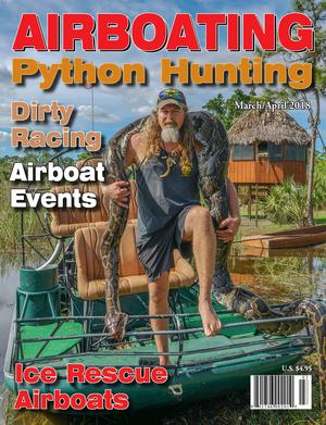 Python, Airboat, Ice Rescue, Racing