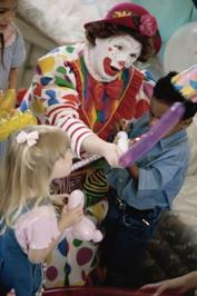 Hire Kids Party Clown near me